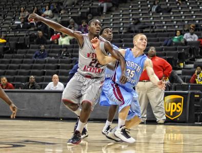 WS Prep Vs North Forsyth HS (Frank Spencer Basketball Tournament)