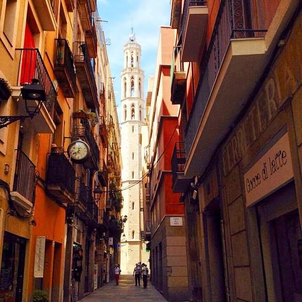 Barcelona Back Streets - Spain