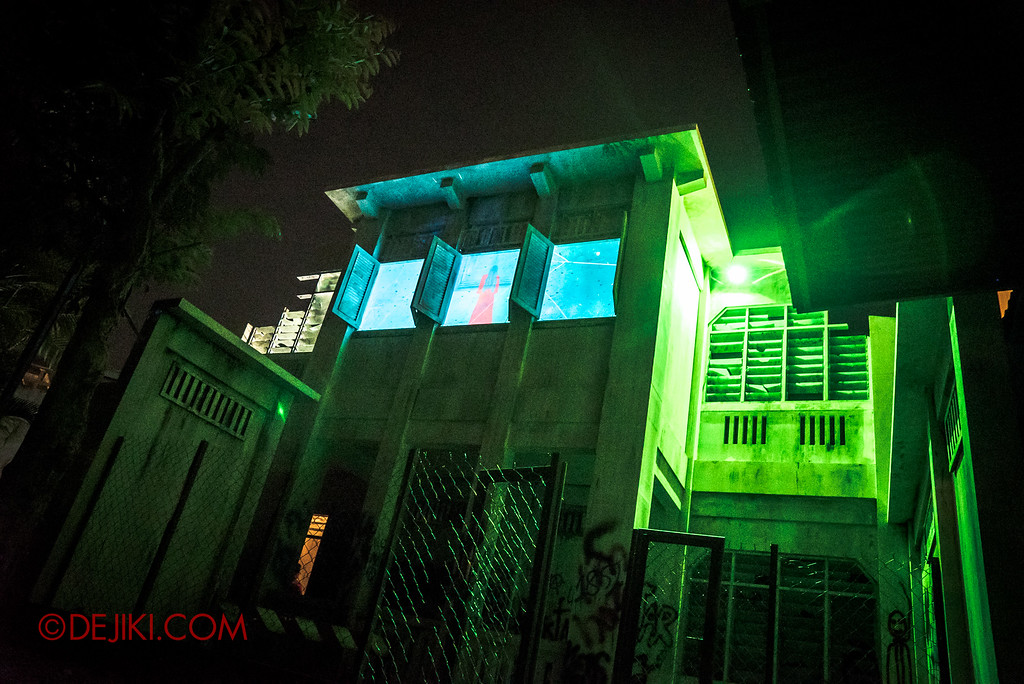 Halloween Horror Nights 6 Final Weekend - Old Changi Hospital revisited / Facade