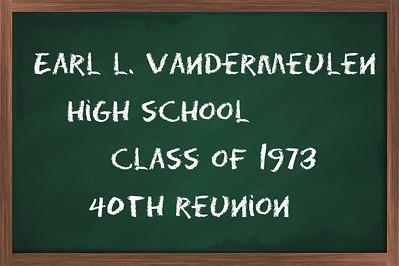 Earl L Vandermeulen H.S. 1973
