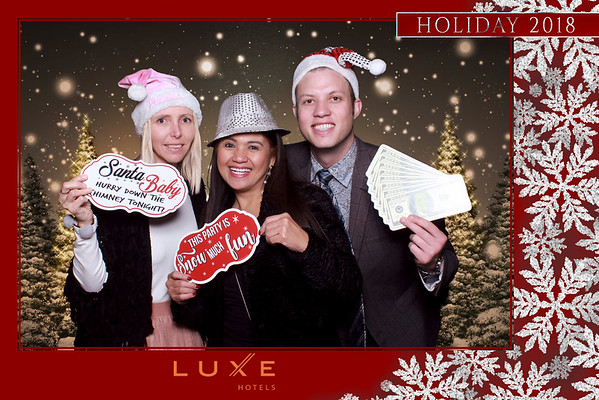 12.20.2018 LUXE Beverly Hills Holiday Party