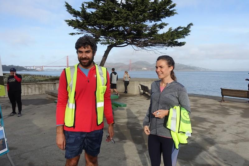 Parkrun volunteering