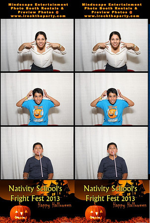 Nativity School's Fright Fest 2013 - Photo Booth Pictures