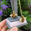Vintage Bee Conversion Earrings 2