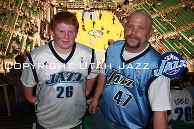 Jazz vs Hawks February 23, 2009