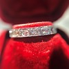 .95ctw Art Deco French Cut Eternity Band 9