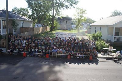 Butler University volunteers