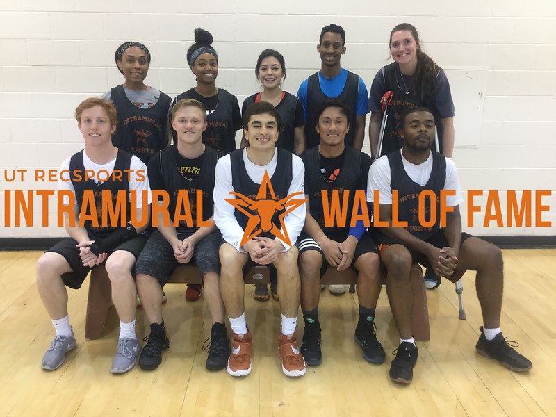 Fall 2017 Basketball Coed A Runner Up AND WON