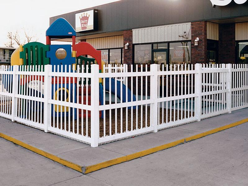 White Alton Fence