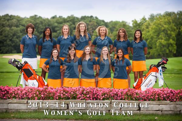 Wheaton College 2013-14 Women's Golf Team