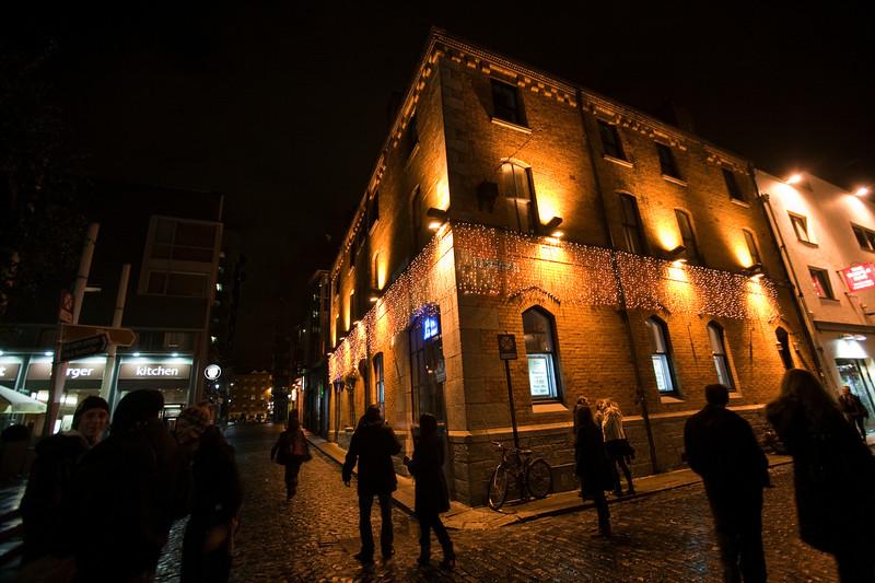 Building at Temple Bar area, Dublin, Ireland