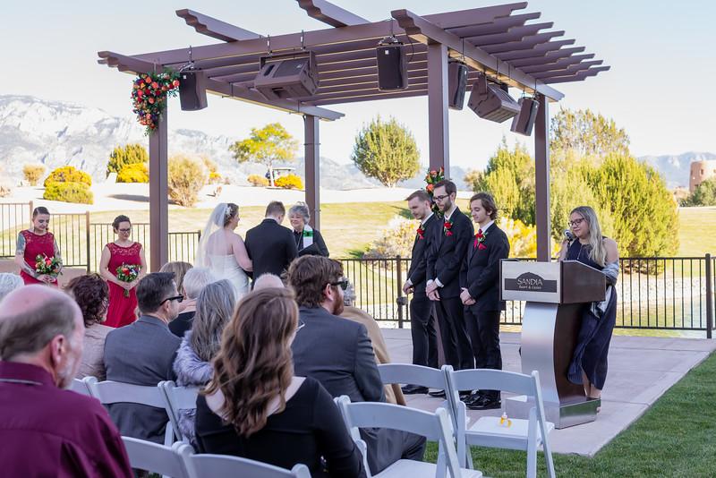 Sandia Hotel Casino New Mexico October Wedding Ceremony C&C-77.1.jpg
