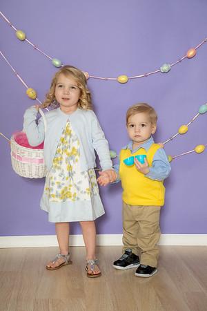 Briella & Jack Easter