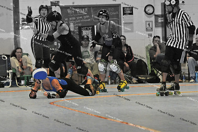 SCDG Bombshells vs. Pikes Peak - June 14th, 2013