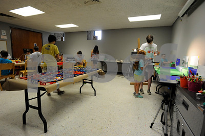 7/7/15 Movie Magic With Lego Art Camp by Andrew D. Brosig