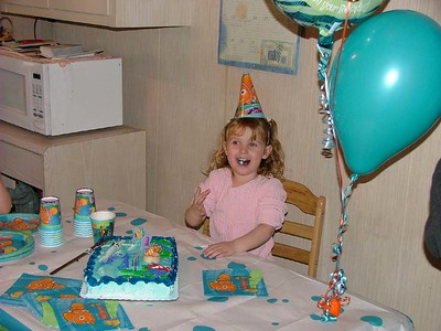 Mikenna's Birthday 2003