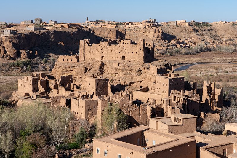 Ancient kasbah in Morocco