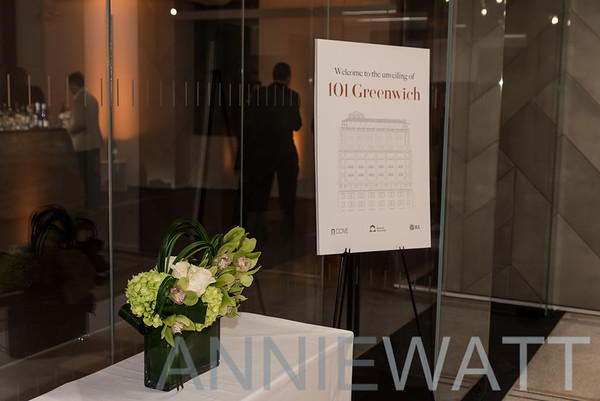 Nov 2, 2017 101 Greenwich Street Unveiling Party
