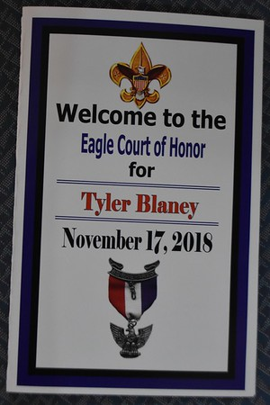 181117 Tyler B's Eagle Court of Honor