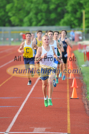 Boy's 1600 Meters - 2012 Oakland County Track Meet