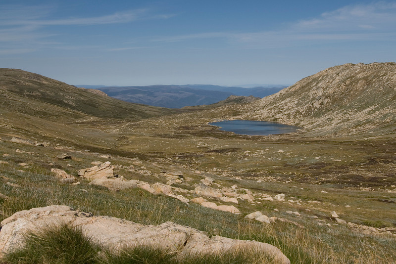 Lake Near Summit of Mount Kosciusko - New South Wales, Australia