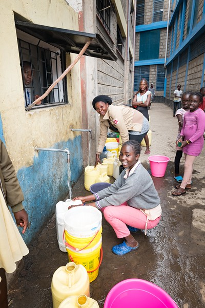 11 Water created for Mathare at Patmos