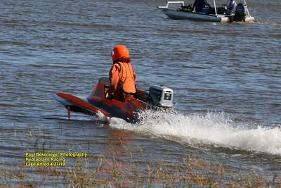 Hydroplane Racing on Lake Alfred