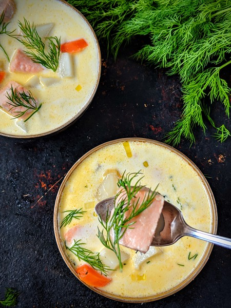 Lohikeitto Finnish Salmon Soup dark 4.jpg