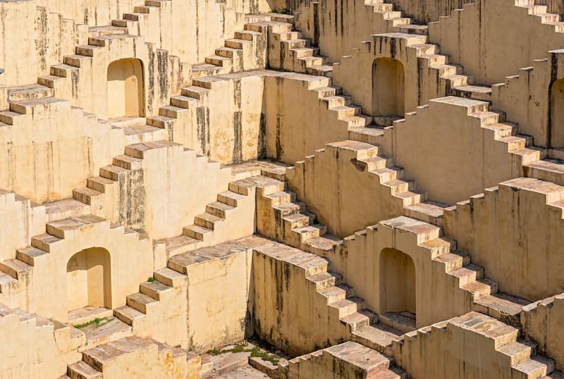 Panna Meena ka Kund step-well, Jaipur