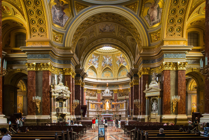 St. Istvan Cathedral, Budapest, Hungary
