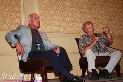 FANFEST 2009 - Ric Flair and Harley Race