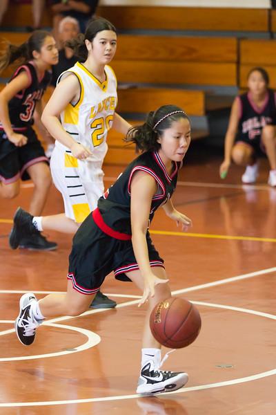 2011 Intermediate II Girls Basketball vs. Sacred Hearts Academy 11/26/11