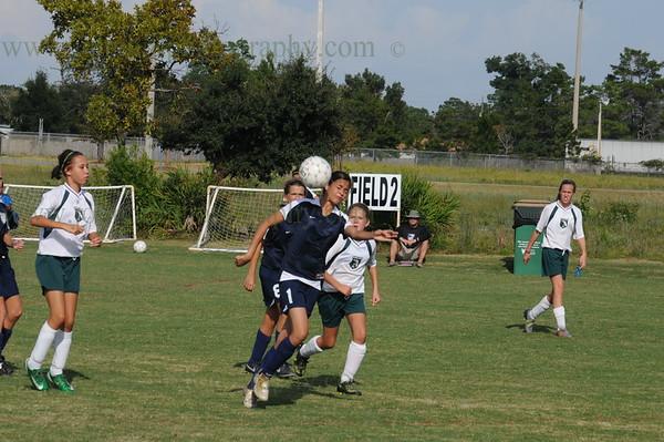Navarre United FC Thunder vs Lakeview New Orleans United Girls U13