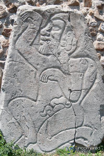 Las Danzantes, Monte Alban - Oaxaca, Mexico