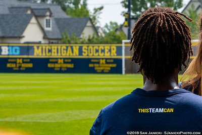 8-26-18 - Best of Michigan Women's Soccer Vs Louisville