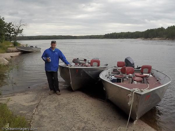 20160805 Manitoba, CA. - Manitoba Fishing Trip - Day 3