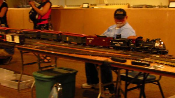 Model Display On Train Day Vid