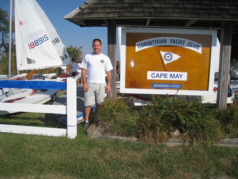 Jon at Corinthian Yacht Club of Cape May