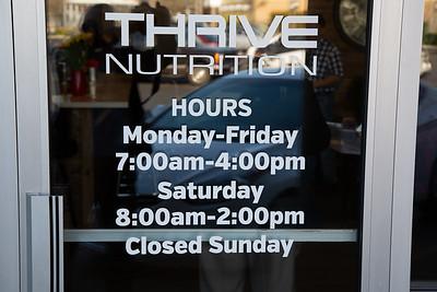 Thrive Nutrition Ribbon Cutting