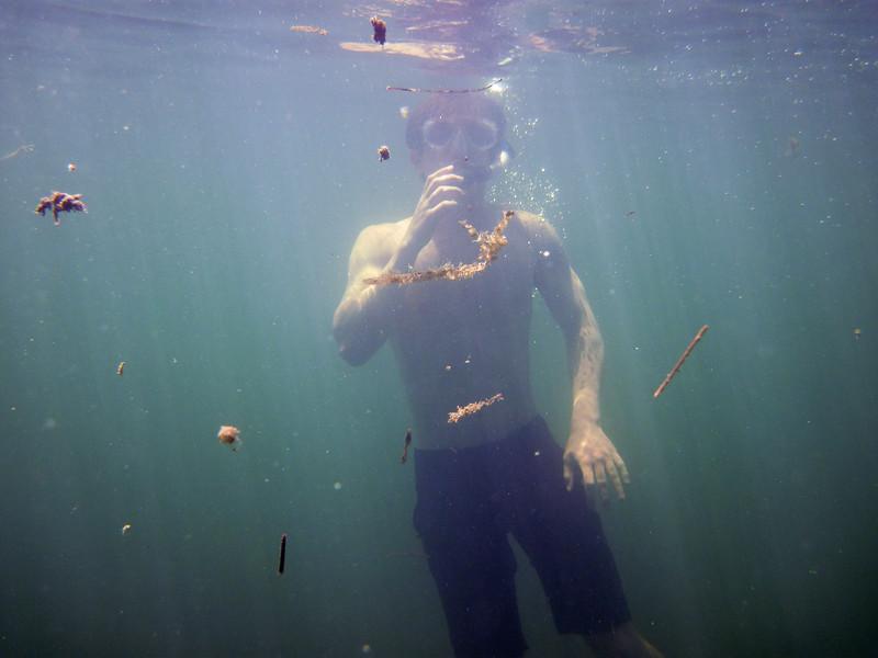 snorkeling at grassy key-14