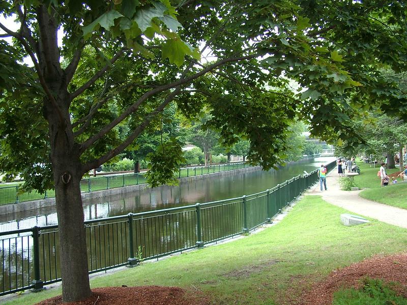 Lucy Larcom Park ~ Lowell, MA