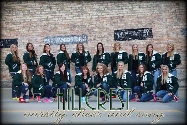 Hillcrest Cheer 2012-2013
