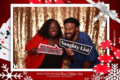 2019.12.06 Discover Dekalb Holiday Social Casino NIght