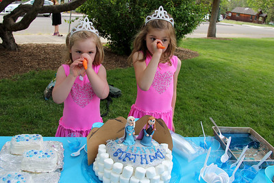 Birthday party for Kaysen and Maisie