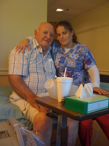2009 07 14 - Alicia and Mr James Parkhill
