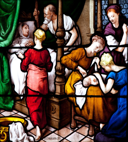Autun Cathedral, The Nativity