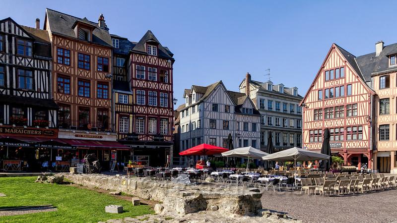 Place du Vieux Marché, Rouen