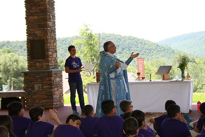 Diocesan Clergy Visit AGBU Camp Nubar, July 2016