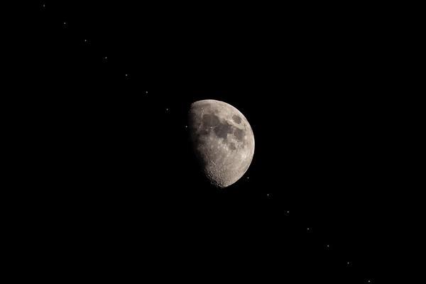 ISS Lunar Transit - 2018/05/23