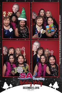 SA Recycling Holiday Party - Booth on right